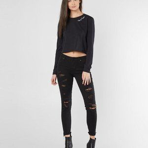 City Of Angels Cropped T-Shirt Kendall & Kylie